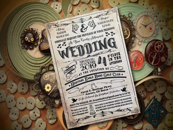 Tmx Aba91b62 Ac58 4611 8fcf De7be44e345c 51 1031279 1571005696 Littleton, Colorado wedding invitation