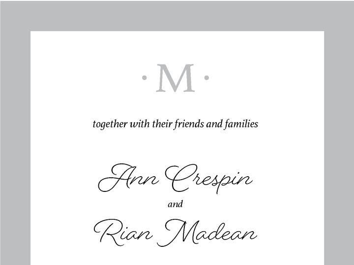 Tmx Annrianinvite 1 01 51 1031279 Littleton, Colorado wedding invitation
