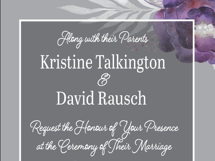 Tmx Davidkristineinvite 1 01 51 1031279 Littleton, Colorado wedding invitation