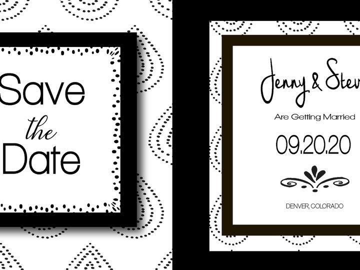 Tmx Genweddinginvite Recovered 01 51 1031279 1571007526 Littleton, Colorado wedding invitation