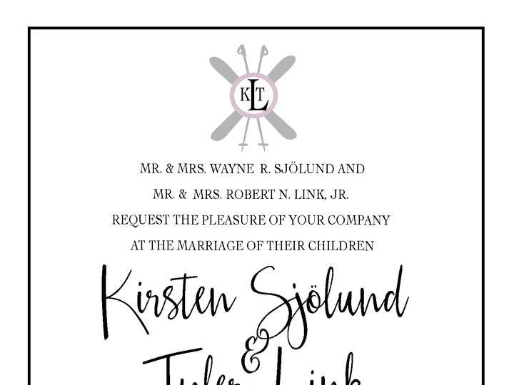 Tmx Kirstenwedding9 01 51 1031279 Littleton, Colorado wedding invitation