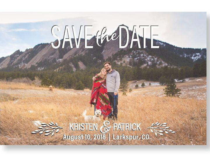 Tmx Kristenweddingpapergoods4 01 51 1031279 Littleton, Colorado wedding invitation