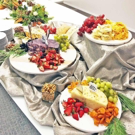 Fruit and Cheese Display