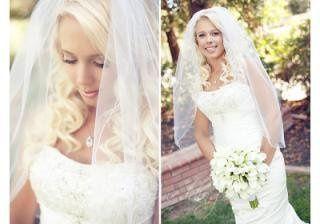 My beautiful bride!