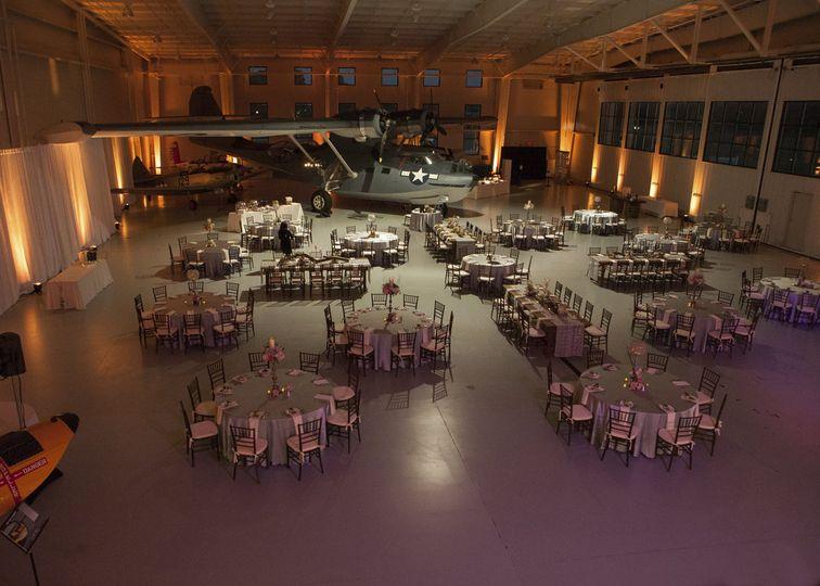 7241 weddingreception navy hanger lighting