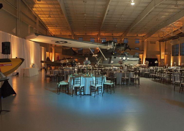7245 weddingreception navy hanger lighting