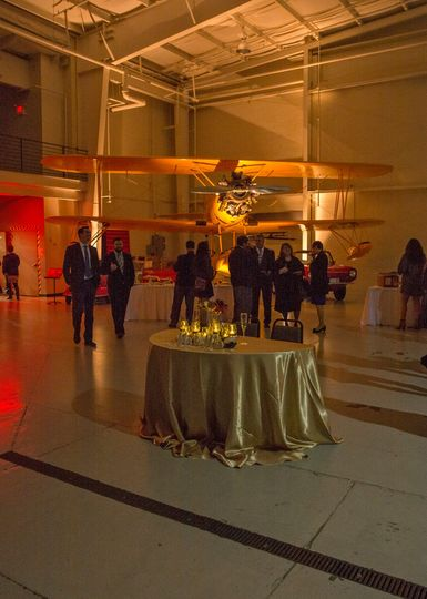 Reception in the Navy Hangar