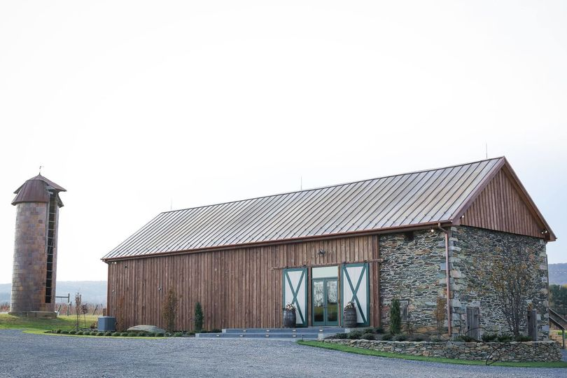 Our newly renovated barn offers stunning vineyard and mountain views.