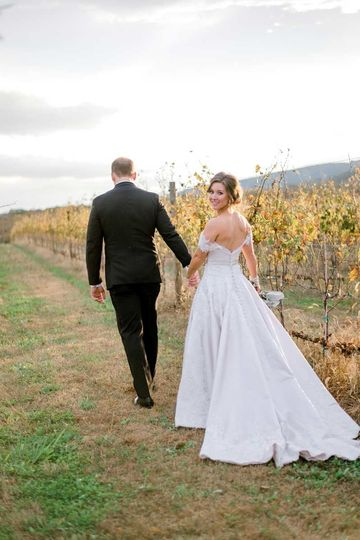 Dreamed of getting married in a vineyard...say yes to Kalero.
