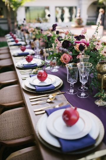 Spanish inspired tablescape