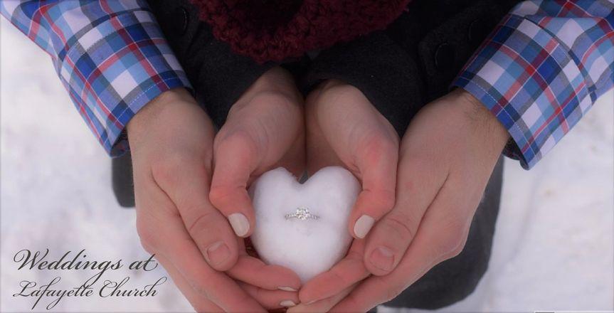 Snow heart