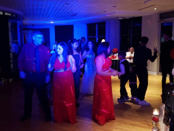 Fun on the dance floor