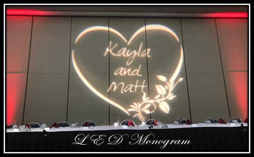 LED Monogram