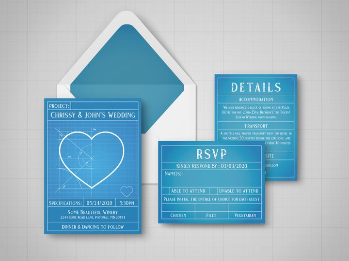 Tmx Entire Suite 51 1994279 160347985482387 Rockville, MD wedding invitation