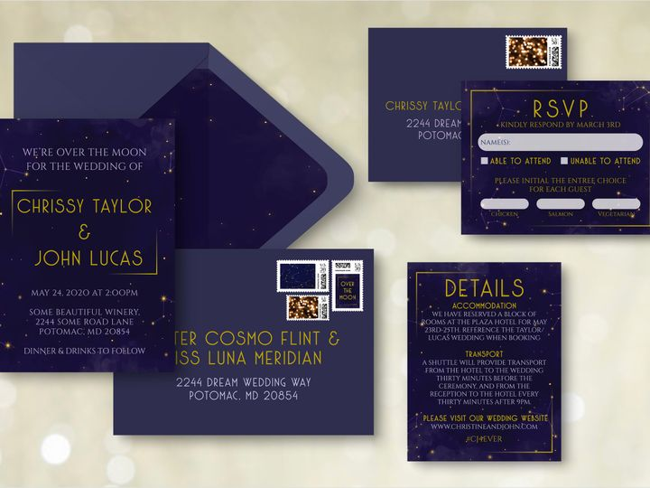 Tmx Entire Suiteenvelopes 51 1994279 160347983082822 Rockville, MD wedding invitation