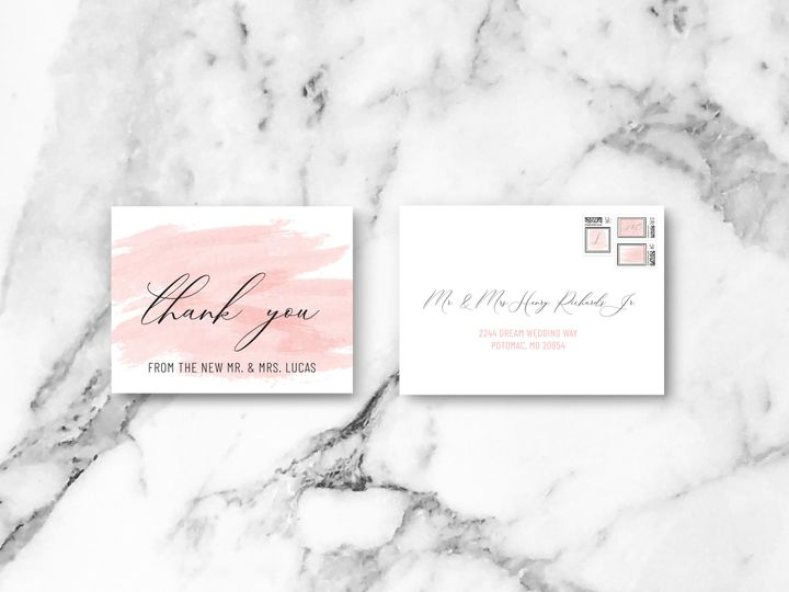Tmx Tyenvelope 51 1994279 160348053410912 Rockville, MD wedding invitation