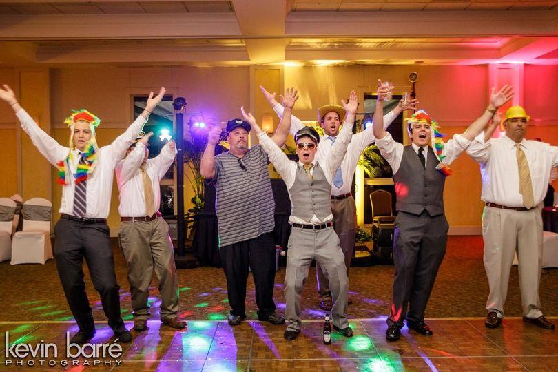 Fun at the dance floor