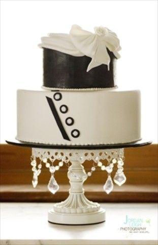 Tmx 1509986859747 Black And White Wedding Lebanon, Pennsylvania wedding cake