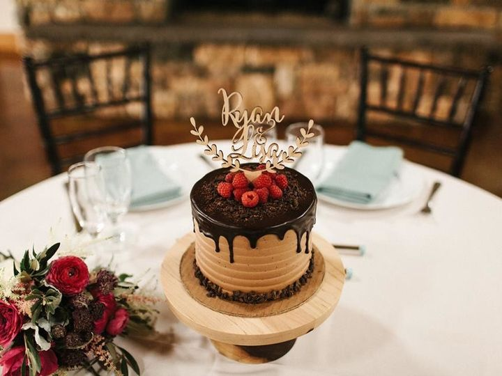Tmx 1509986881323 Chocolate Raspberry Drip Lebanon, Pennsylvania wedding cake