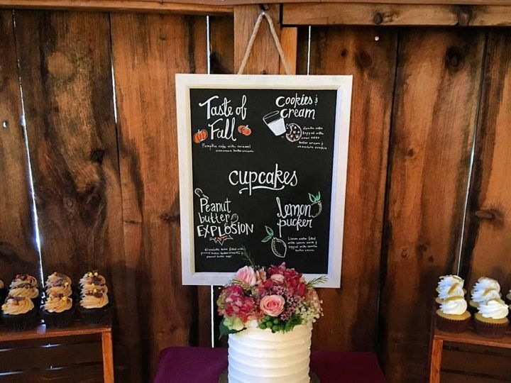 Tmx 1509986935152 Rustic Cupcake Display Lebanon, Pennsylvania wedding cake