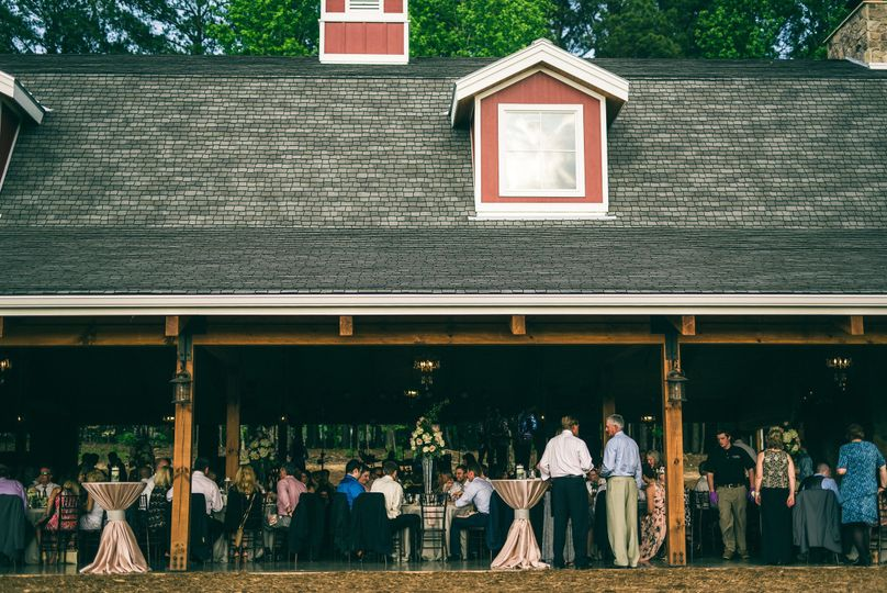 Guests at The Pavilion at Carriage Farm