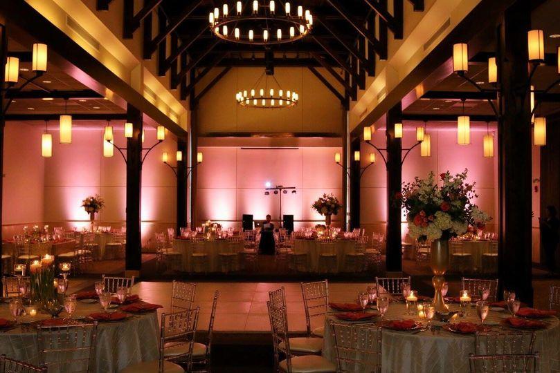 Uplighting and event design