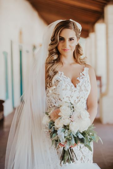 Bride in San Juan Bautista