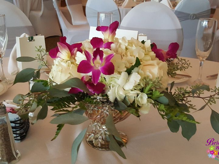 Tmx 1528920457 698cd19b787bafd5 1528920454 A5da464d4e1ca9c2 1528920451266 5 Rose Gold Bowl Tampa, FL wedding florist