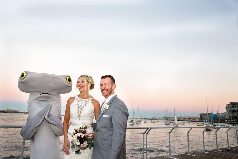 NE Aquarium Wedding