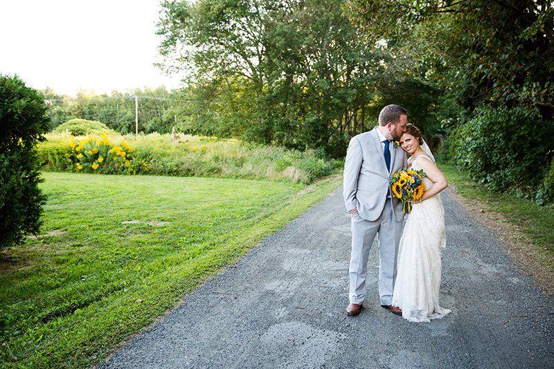 Fall Wedding in Middletown, RI