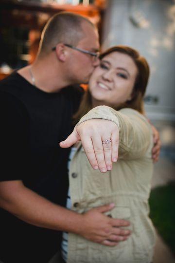 Becca and Scott engagement