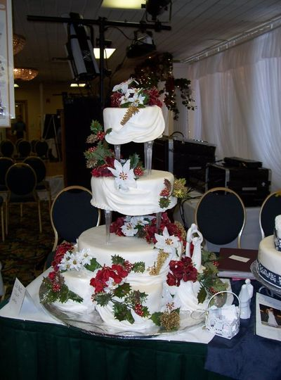 Nine-tier drape