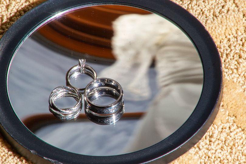 Unique ring showcasing