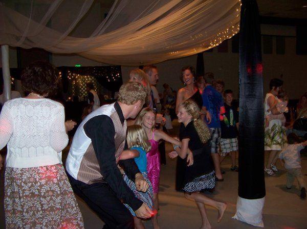 Guests enjoying themselves on the dancefloor