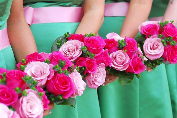 Good flowers are a must!  They just make your wedding day photos even better!