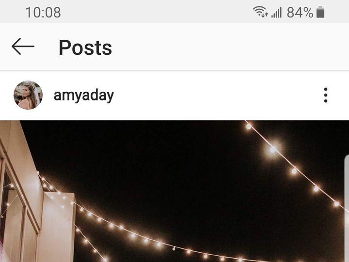 Tmx Screenshot 20200216 100842 Instagram 51 1021379 159184567048551 Tulsa, OK wedding venue