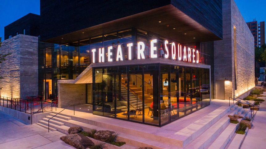 TheaterSquared from the outside