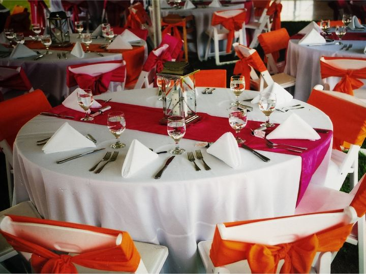 Tmx 1396573954798 Fuschiaorange Croppe Marietta, Pennsylvania wedding rental