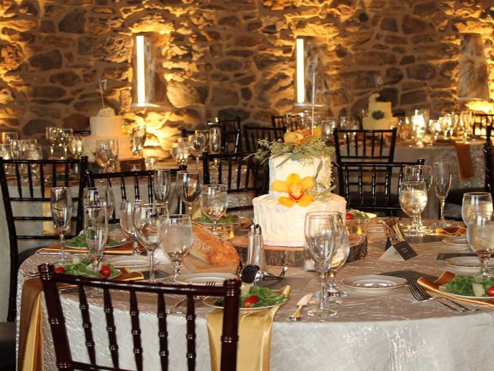Tmx 1484940538080 Ivory Gold Tabletop Marietta, Pennsylvania wedding rental
