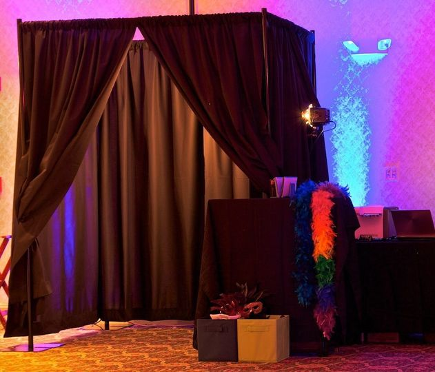 Photobooth area