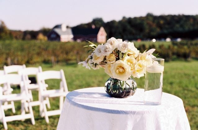 A stunning ceremony site