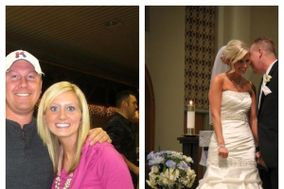 Wow! You look AMAZING in that wedding dress! What did you do? I used It Works body wraps!