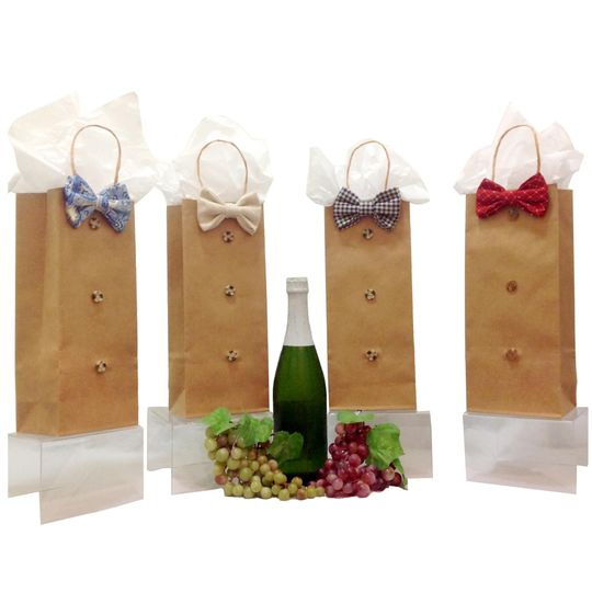 Bow Tie Wine Bags