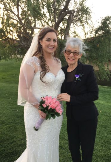 Bride and the reverend