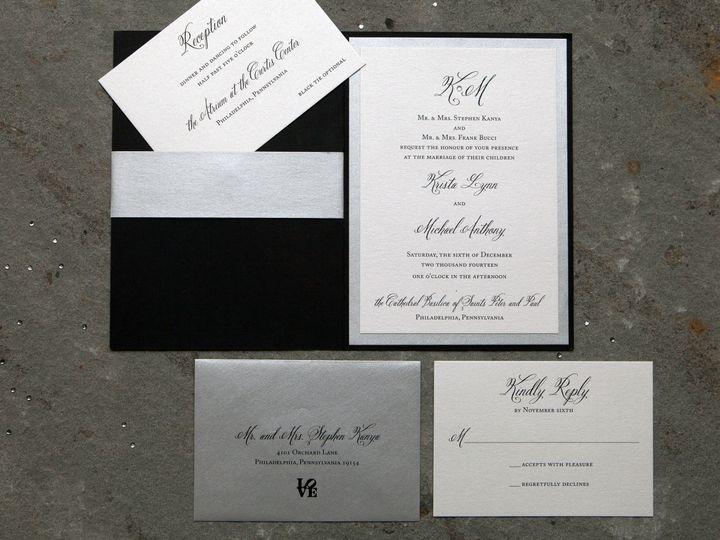 Tmx 1496954090931 Krista Skippack, PA wedding invitation