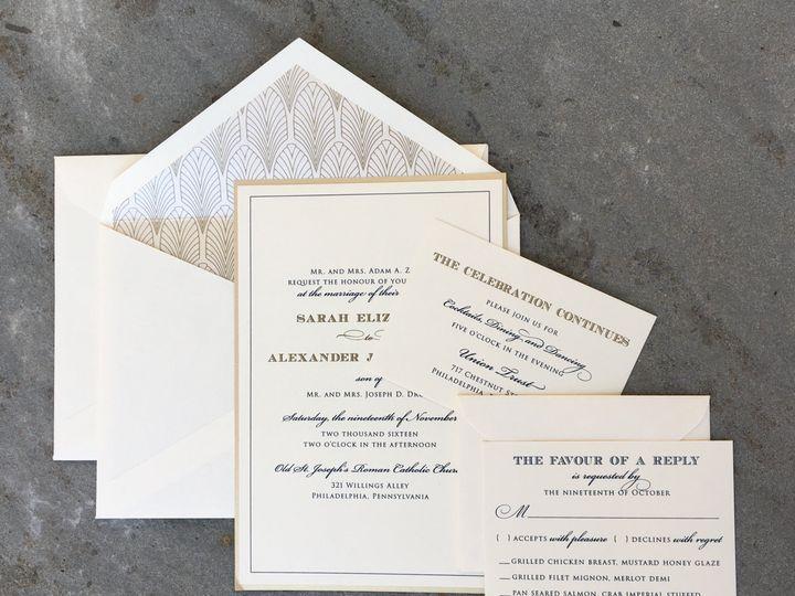 Tmx 1496954127896 Sarah Skippack, PA wedding invitation