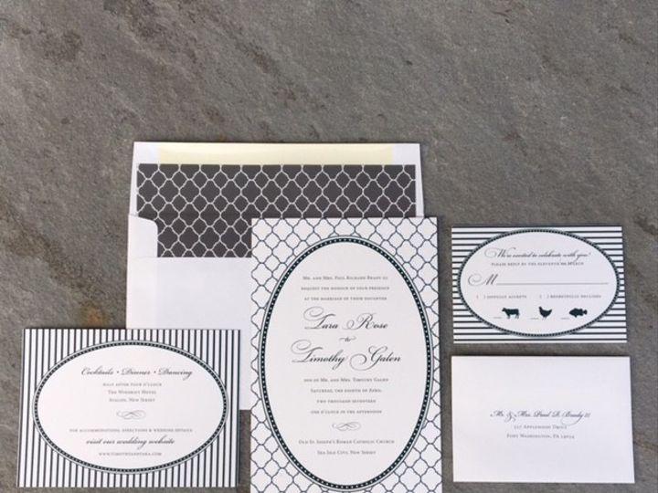 Tmx 1496954146306 Tara And Tim Skippack, PA wedding invitation