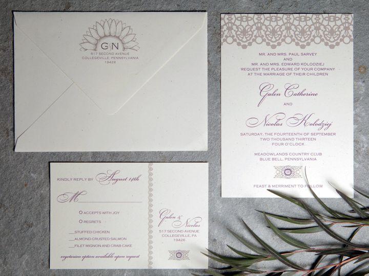 Tmx 1496954315026 Galen Skippack, PA wedding invitation