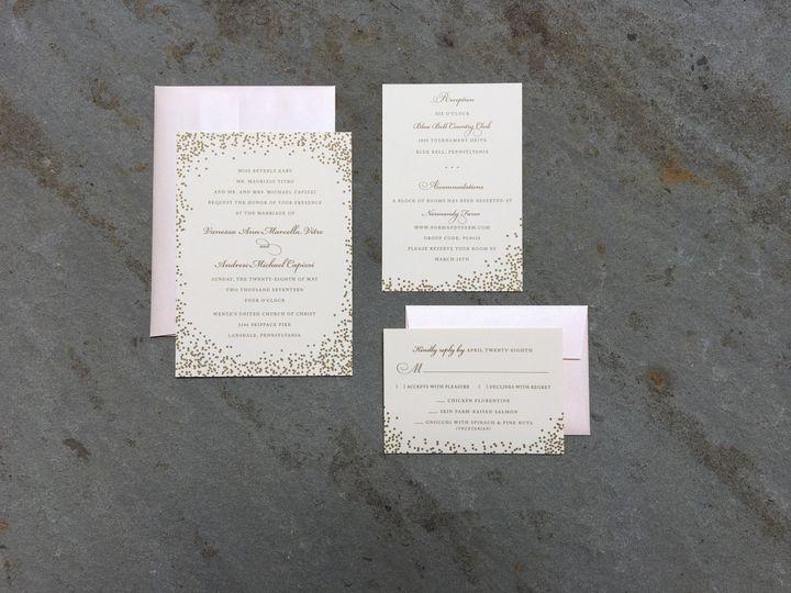 Tmx 1496954416237 Img1599 Skippack, PA wedding invitation