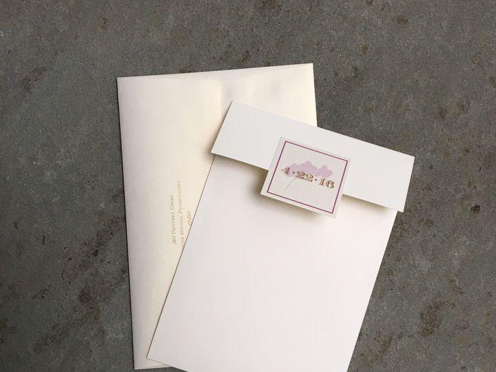 Tmx 1496956783936 Img1668 Skippack, PA wedding invitation